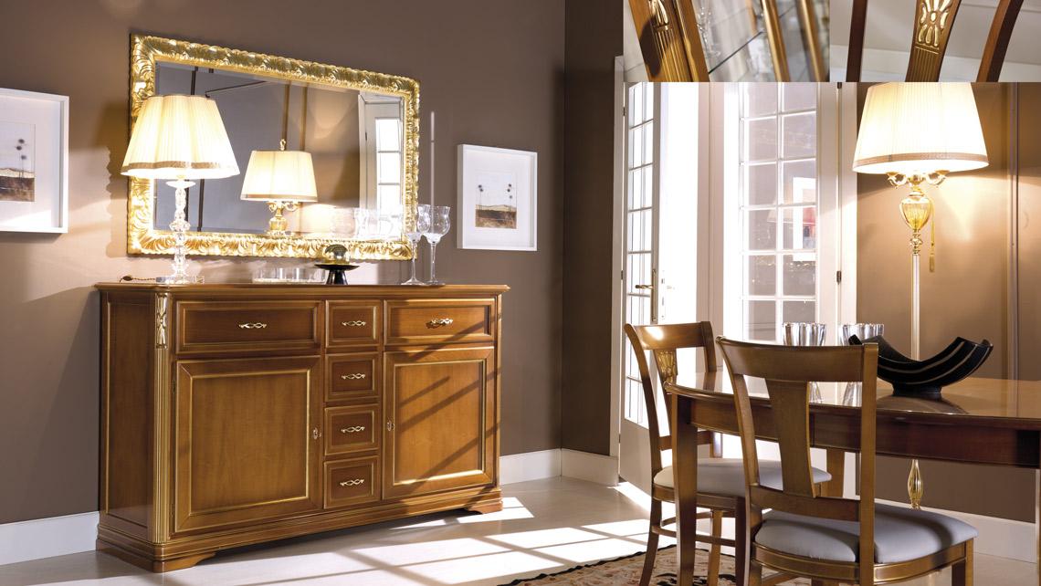 Credenza La Maison : La maison art. 638t specchiera 605t credenza mobiltema